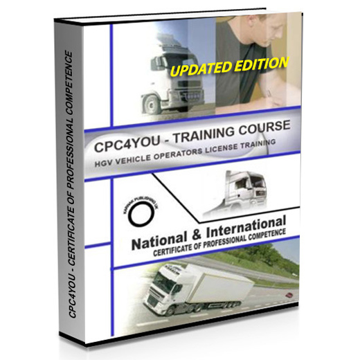 Covershot of Primo Marketing's HGV Training Manual