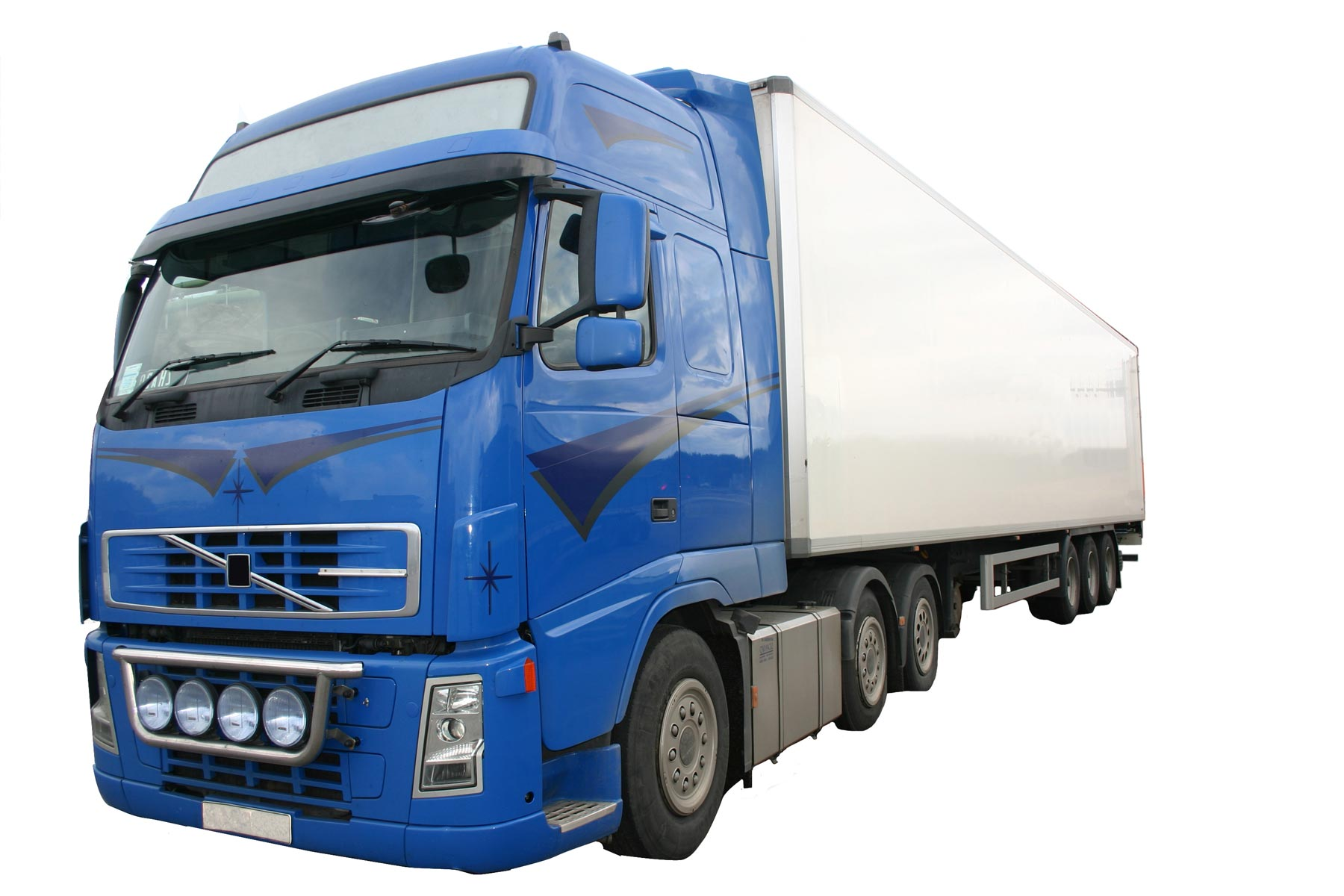 Lorry for transport manager course
